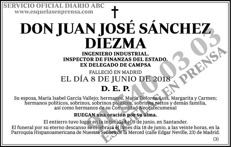 Juan José Sánchez Diezma
